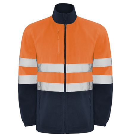 Jacheta fleece ALTAIR HV-Orange