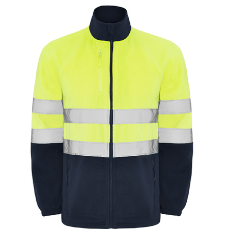 Jacheta fleece ALTAIR HV-Yellow