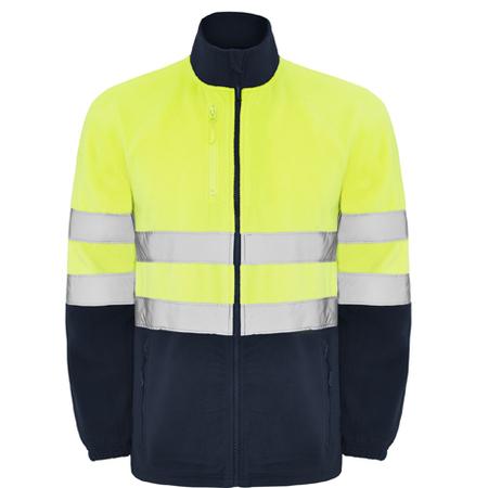 Jacheta fleece ALTAIR HV-Yellow