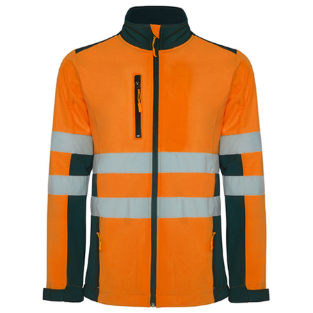 Jacheta softshell ANTARES HV-Orange