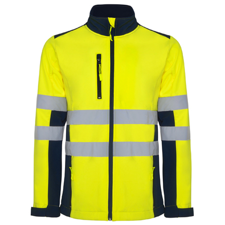 Jacheta softshell ANTARES HV-Yellow