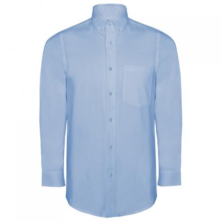 Camasa maneca lunga OXFORD MAN Bleu