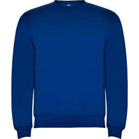 Bluza flausata CLASICA Albastru