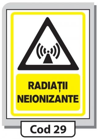 Indicator de securitate Cod 29