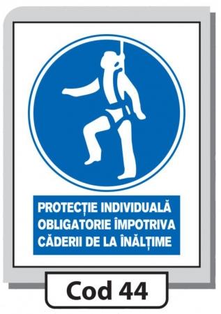 Indicator de securitate Cod 44
