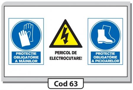 Indicator de securitate Cod 63