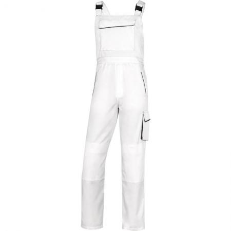 Pantalon cu pieptar M6SAL Alb