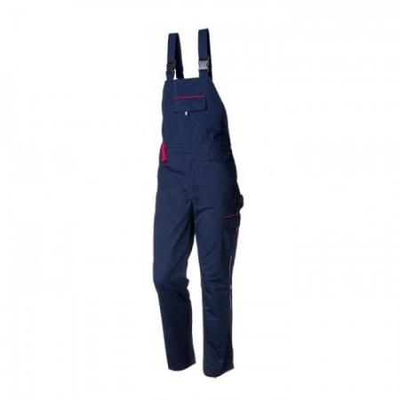 Pantalon cu pieptar ANDURA Bleumarin