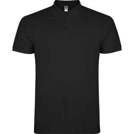 Tricou Polo STAR Negru